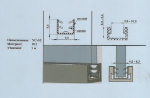 Уплотнитель 4-6,5 мм Гомель