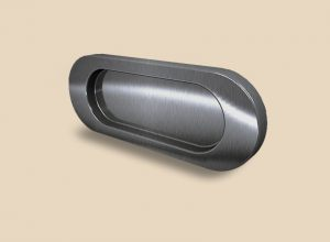 Ручка серебро глянец овальная Италия Гомель