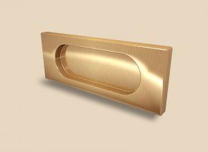 Ручка Золото глянец прямоугольная Италия Гомель