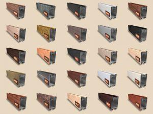 """Алюминиевый ламинированный профиль """"HOLZ"""" для шкафов купе и межкомнатных перегородок Более 100 цветов Гомель"""