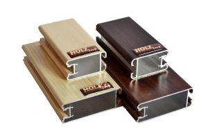 """Ламинированный профиль """"HOLZ"""" для шкафа купе и межкомнатной перегородки Гомель"""