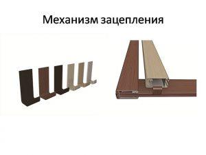 Механизм зацепления для межкомнатных перегородок Гомель