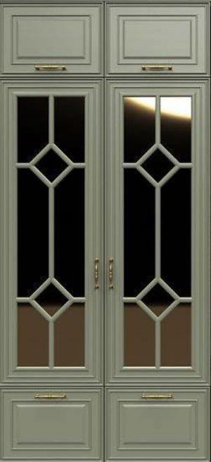 Фасад с фигурной филенкой эмаль Гомель