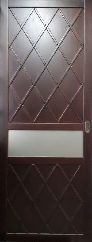 Вставка в дверь с фигурной филенкой Гомель